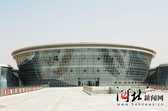 2016唐山世园会城市主题馆主体已完工