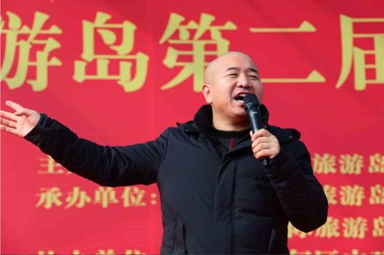 日,唐山湾国际旅游岛第二届新春民俗文化庙会启幕.